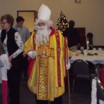 Sankt Nikolaus makes a visit