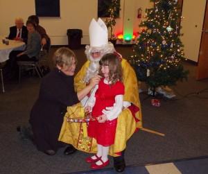 A visit from Sankt Nikolaus