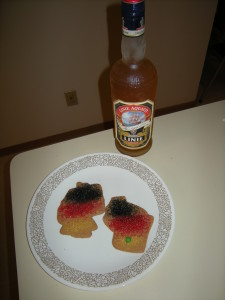 Cookies and aquavit