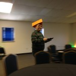 """As Klaus says, """"it's not every day you see a guy from Philadelphia in a cheesehead."""""""