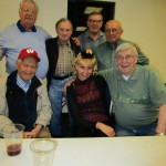 Paul, Dorothy, Jerry, Werner, Walter, Mel and Dick