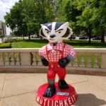 Gemuetlichkeit Bucky on the Capitol Square