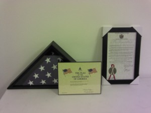 Proclamation and US Flag