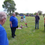 We sang a few songs at Pat Burke's grave