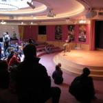 We performed in the Rotunda Room