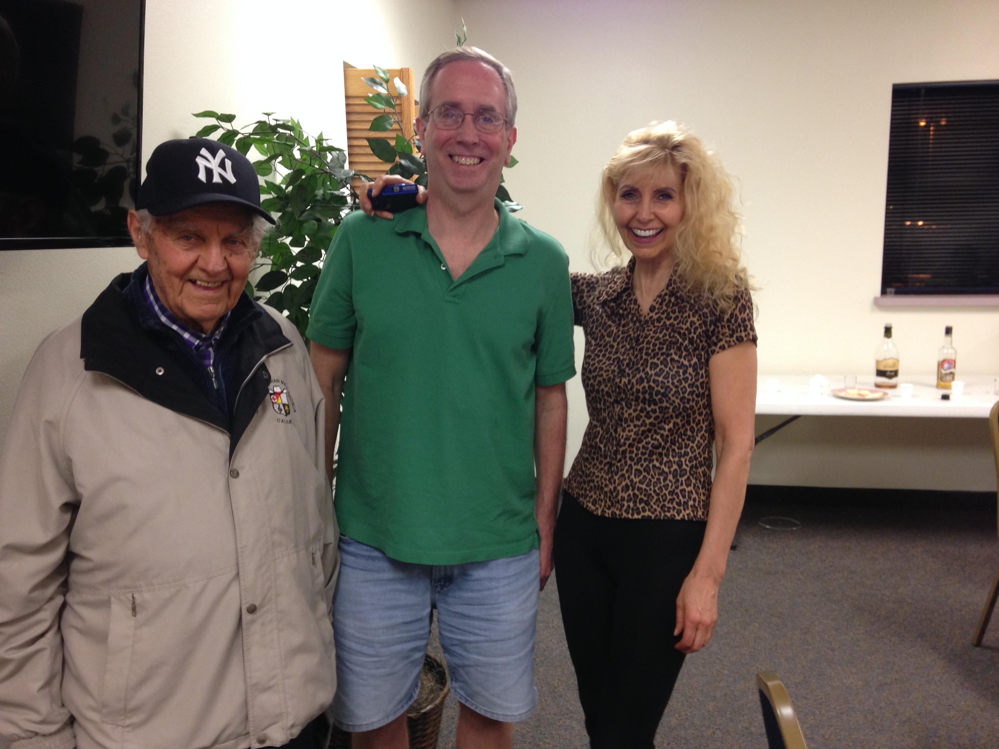 Paul and Dorothy with Joe