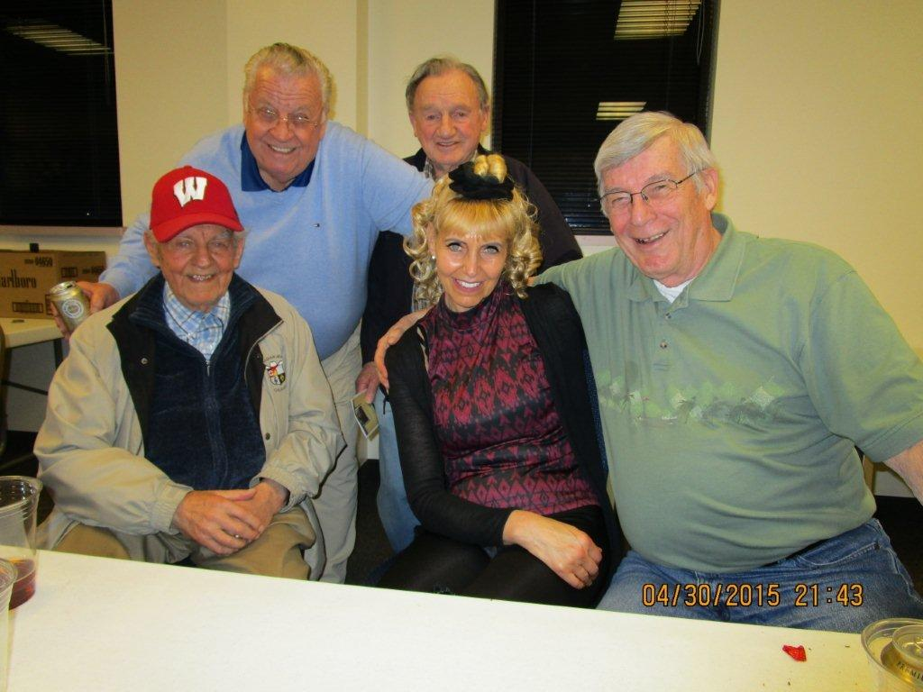 Paul, Dorothy, Jerry, Werner and Walter