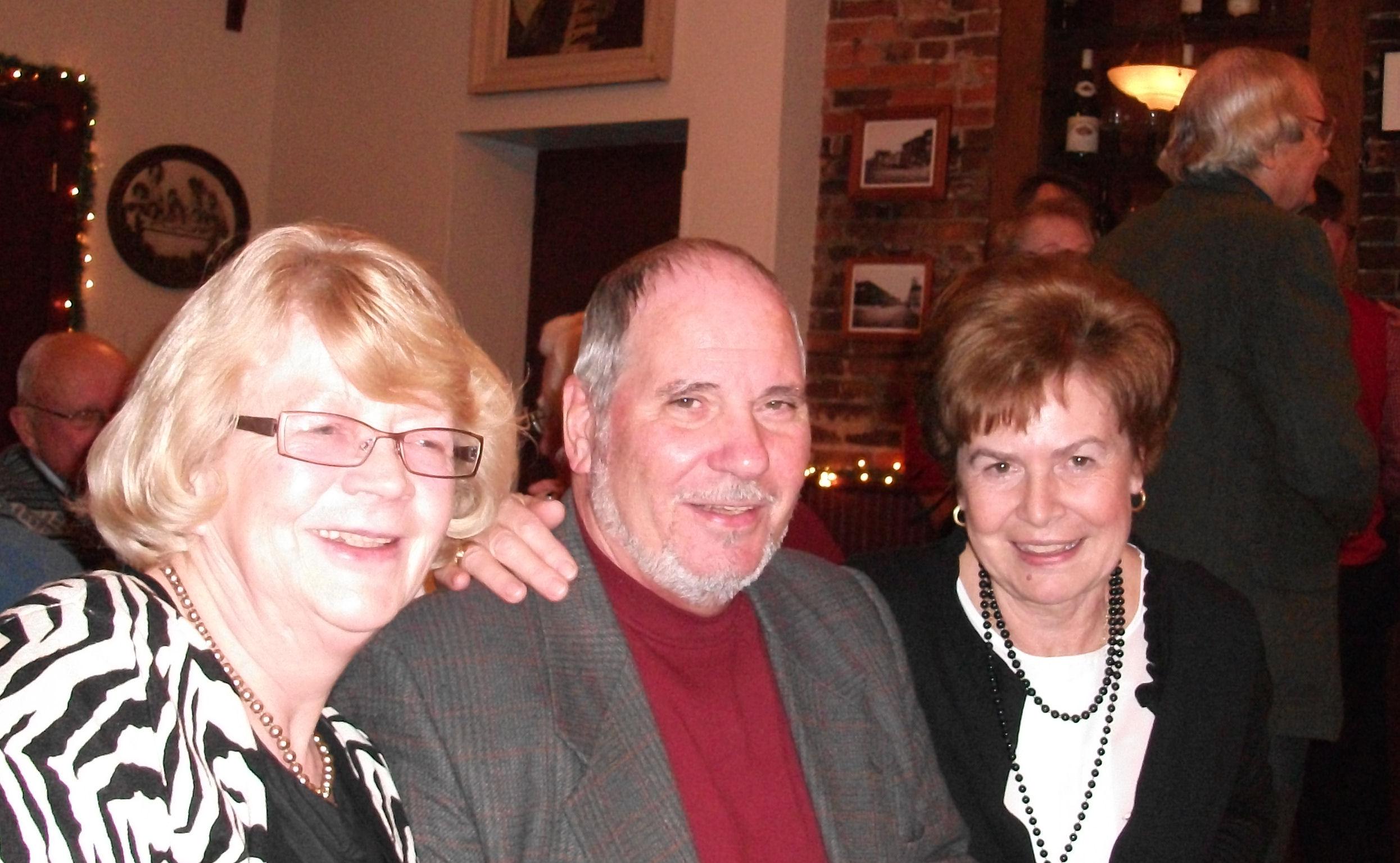 From left-to-right Ellie Hein, Paul Essert, Elizabeth Bodenstein